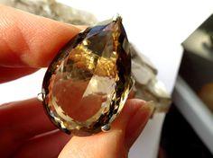 Rauchquarz 925 Silber Ring  Größe 57 / Edelstein von ElstarDesign