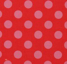 Latest Designer Fabric 'Pink Spot on Raspberry' by Kokka (JPN). All latest designer fabric sold online.