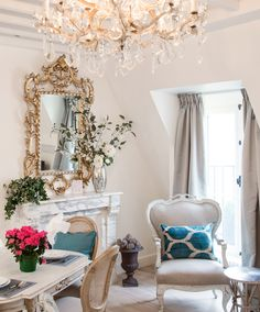 In love with the turquoise accents & classic parisian motifs of the Gaillac apartment rental by Paris Perfect!