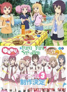 Watch Yuru Yuri San☆Hai! - YuruYuri S3 or ゆるゆり さん☆ハイ! anime online full english subtitle. Yuru Yuri San☆Hai! episode 1 2 3 4 5 6 7 8 9 10 11 12