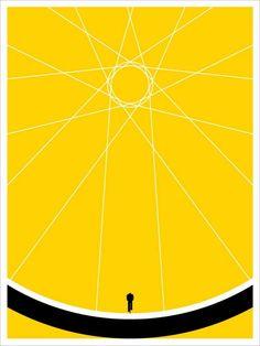 Biker — Follow the yellow brick road