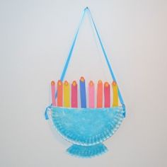 Menorah Craft for Kids Over 7