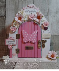 Door Crafts, Crafts To Do, Crafts For Kids, Diy Fairy Door, Tooth Fairy Doors, Fairy Garden Houses, Fairy Gardens, Fairy Door Accessories, Fairy Bedroom