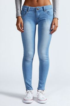 Faith 7/8 Bleached Ankle Grazer Jeans at boohoo.com