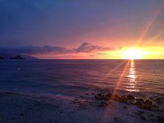 Stunning Puerto Vallarta sunset in between thunderstorms