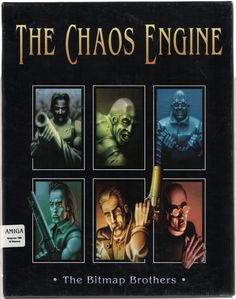 Buy The Chaos Engine For The Amiga Games Online From Retro Gaming World Vintage Video Games, Retro Video Games, Vintage Games, Video Game Art, Retro Games, Games Box, Old Games, Commodore Amiga, Pc Engine