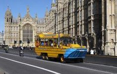 London Duck Tour 19.50  Tour duration: 1 hour, 15 minutes approximately  Tour departs: Chicheley Street, London, SE1 7PJ (behind the London Eye)  Commentary in English by a tour guide.