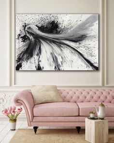 Original resin art by artist Jessica Skye Baker 'Flowerhead' 198x122cm