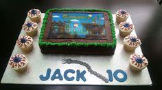 Terraria birthday cake