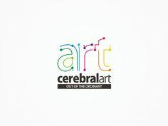 cerebralart advertising agency logo design by alex tass by Alex Tass