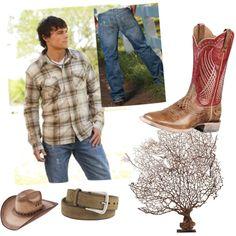 """B. Tuff - Men's Modern Cowboy Look"" by rcconline on Polyvore"
