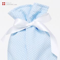 Baby Warming Wheat & Lavender Seed Bag · Blue Dots · Pulguinhas, €36.90