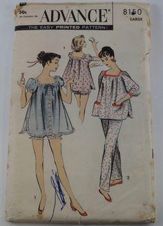Vintage+1950s+Pajama+