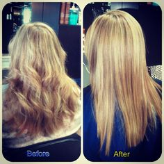 Brazilian blowout hair by memyself and i pinterest brazilian blowout before after fandeluxe Epub