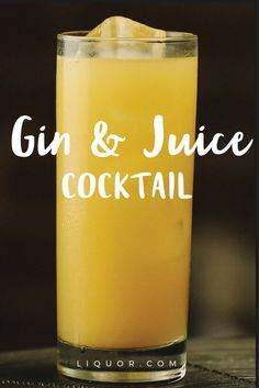 It's simple, fruity and refreshing, and the exact recipe is up to you. Grab your favorite fruit juice and whatever #gin you have on hand, and you're set! The #cocktail is literally as easy to make as the name implies!