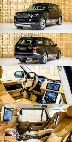 Land Rover Range Rover SV-Autobiography - Cars World Range Rovers, Range Rover Auto, Landrover Range Rover, New Luxury Cars, Luxury Suv, Jeep Range, Carros Suv, Automobile, Luxury Sports Cars