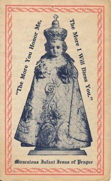 """Nine Hour """"Crash"""" Novena to the Holy Infant of Prague Infant Jesus of Prague"""