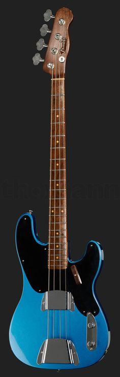 Fender 51 P-Bass Walnut LPB MBDG
