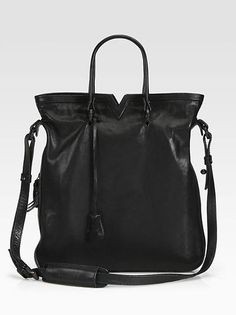 Opening Ceremony - Leather Tokyo Tote, $874.95