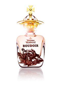 Vivienne Westwood - Boudoir (aldehydes, bergamot, hyacinth & orange blossom; jasmine, rose, narcissus, carnation, orris root, cardamom & coriander; patchouli, sandalwood, tobacco leaves, cinnamon & vanilla)