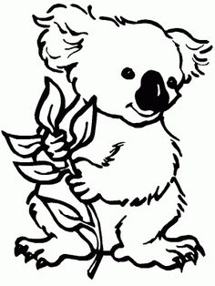 australian christmas coloring pages for kids - Google Search