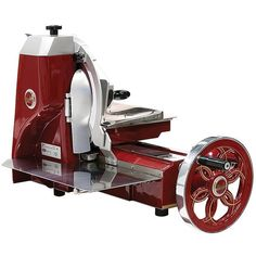 Berkel Prosciutto Slicer The manual operation allows you to control the… Meat Slicers, Gadgets, Restaurant Equipment, Kitchen Equipment, Restaurant Bar, How To Make Sausage, Sausage Making, Industrial, How To Cook Potatoes