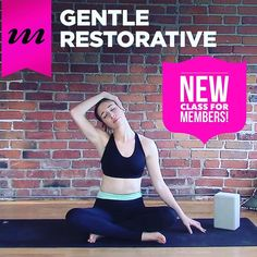 NEW for MOJO Members-only! This Gentle Restorative practice with Kassandra ( @yoga_with_kassandra ) proves that even with minimal props we can find maximum relaxation.   Members just login @ mymojoyoga.com and you'll find this video featured at the top of your Member Home Page this week!   And if you're not a Member yet check out the preview of this rejuvenating practice on our YouTube channel at http://youtu.be/JWV0ZeKmIAk (active link in our bio). Or try the full practice for free during…