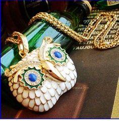 Retro Necklace Pendant Jewelry Girl Cute Gift Coat Sweater Chain Owl Elephant #Halloween #owl #jewelry www.loveitsomuch.com