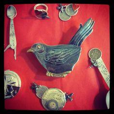 Blackbird box & sing a song of sixpence range. Art 3d, Blackbird, Edinburgh, Singing, Range, Ceramics, Friends, Box, Jewelry