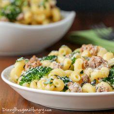 Easy Turkey Broccoli Pasta Dinner on MyRecipeMagic.com