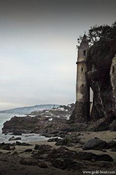 Victoria Beach Tower-- Laguna Beach, California. http://www.visitcalifornia.com/Explore/Orange-County/