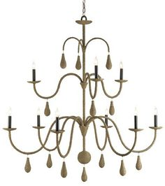 Currey and Company Bayside Chandelier
