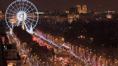 Iluminações de Natal dos Champs-Elysées | Espectáculo PARIS 2016 | Site oficial do turismo na França