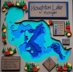 Houghton Lake by FoamFriends4u