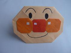 """アンパンマン折り紙 簡単かわいい Origami""""Anpanman"""""""
