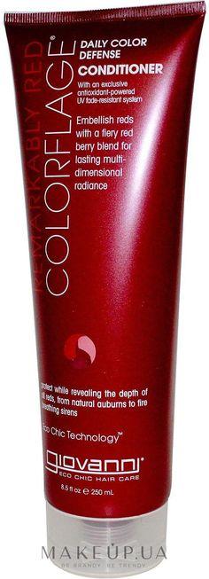 Яркие огненно-рыжие волосы сводят с ума! Столь смелый цвет символизирует неистовую страсть по-настоящему роковой женщины. Однако что предпринять, чтобы яркое пламя рыжих волос не погасло и прекрасный оттенок локонов был действительно стойким, а сами волосы прочными, мягкими и послушными. Ответ прост: используйте кондиционер Colorflage Remarkably Red от Giovanni. Этот чудесный продукт прекрасно...