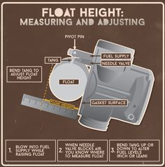 Motorcycle Carburetor Float Height: Measuring and Adjusting