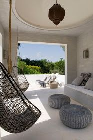 Modern Moroccan deck ideas, with more color