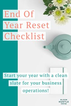 Grab this 6-page workbook and make sure your business operations are cleaned up and ready for the year ahead. I'll guide you through getting your business operations reset and ready to tackle the new year with a clean slate. #business101 #businessplanning #businesstip Online Business Plan, Business Planning, Business Tips, Creative Business, Social Media Marketing Business, Business Entrepreneur, Social Media Packages, Business Operations, Clean Slate