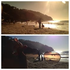 Use Your Sunglasses as a Filter when shooting with your iPhone.