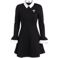 SHARE & Get it FREE | A Line Color Block Dress with BroochFor Fashion Lovers only:80,000+ Items • FREE SHIPPING Join Twinkledeals: Get YOUR $50 NOW!