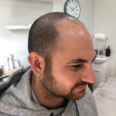 Good Looking Bald Men, Bald Actors, Bald Look, Shaving Your Head, How To Look Better, That Look, Mustache Men, Low Maintenance Hair