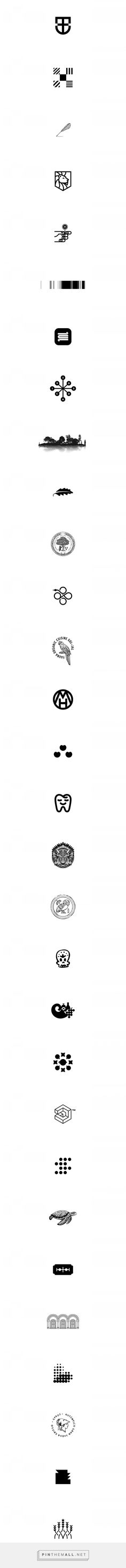 50 Icons & Monograms. on Behance... - a grouped images picture - Pin Them All