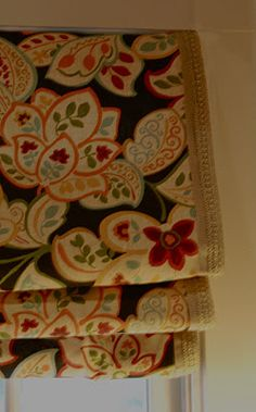 DIY No-sew Faux Roman shade tutorial (by Imparting Grace)