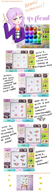 Cool design #guide #acnl created by bramblescrossing.tumblr.com. Enjoy! (My tumblr: NurseLisainOhio.tumblr.com is almost ALL ACNL &/or ACHHD!!) ☺️