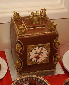 Beautiful Clock Cake