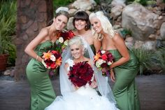 Jessica's wedding was gorgeous at the Pala Mesa Resort, Fallbrook, CA Her colors were rich and vibrant.
