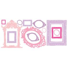 Room Mates Frames Peel and Stick Giant Wall Decals | Wayfair