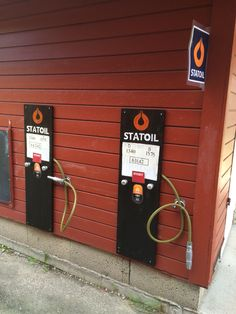 Petrol station for the pedal cars and bikes designed for inyourbackyard