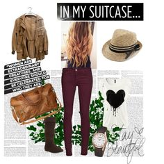 """Travel"" by clairebear95 on Polyvore"
